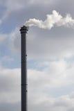 Cheminée ou cheminée industrielle Photographie stock