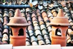 cheminées Photos stock
