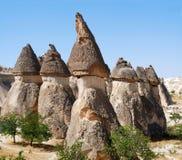 cheminées de cappadocia féeriques Images stock