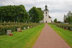 Chemin à l'église Images libres de droits
