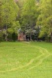 Chemin à la cabine de John Oliver photos stock