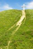 Chemin à la croix Image stock