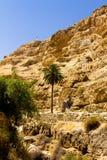 Chemin à la croix, désert de Judean Images stock