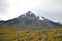 Chemin à la montagne Image stock