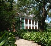 Chemin à la plantation méridionale Photos libres de droits