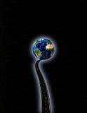 Chemin à la terre illustration libre de droits