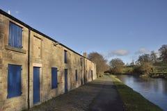 Chemin écossais de canal Images stock