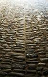 Chemin antique de pierres photos libres de droits