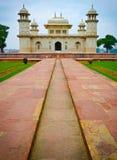 Chemin au bébé Taj Images libres de droits