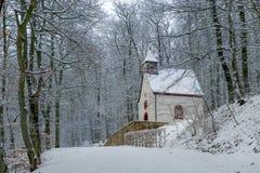 Chemin au Burg Eltz image libre de droits