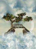 Chemin au ciel Image libre de droits