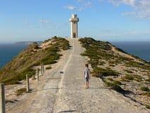 Chemin au phare Photographie stock libre de droits
