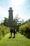 Chemin au phare Images libres de droits