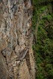 Chemin au pont d'Inca, Urubamba, Machu Picchu, Pérou image stock