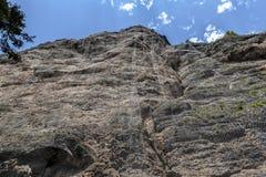 Chemin au romedio de San Image stock