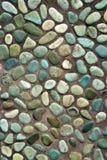 Chemin coloré de cailloux Image stock