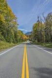 Chemin détourné scénique coloré Image stock