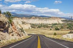 Chemin détourné scénique 12 près de Boulder en Utah Images stock