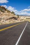 Chemin détourné scénique 12 près de Boulder en Utah Photo libre de droits