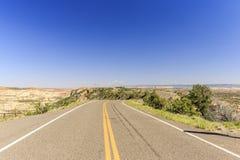Chemin détourné scénique 12, Utah, Etats-Unis Image libre de droits