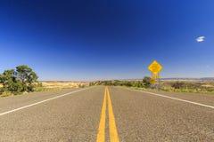 Chemin détourné scénique 12, Utah, Etats-Unis Images libres de droits