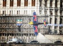 Chemin d'air de Red Bull Images libres de droits