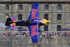 Chemin d'air de Red Bull photographie stock libre de droits