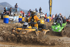 Chemin d'ATV Photos stock