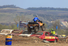 Chemin d'ATV Photo stock