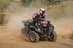 Chemin d'ATV Photos stock