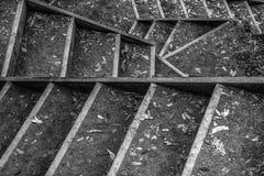 Chemin d'escalier Photos libres de droits