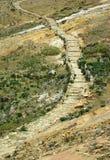 Chemin d'Inca, Bolivie Photographie stock