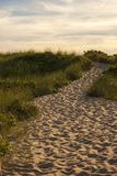 chemin d'océan à Photographie stock libre de droits