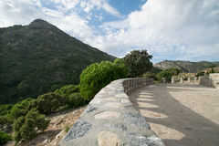Chemin dans la nature à Marbella Image stock