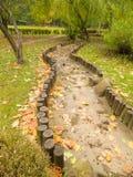 Chemin dans le jardin Photos stock