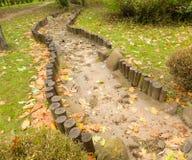 Chemin dans le jardin Image libre de droits