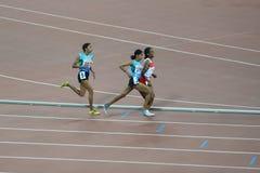 Chemin de 10,000m des femmes de jeux asiatiques de Guangzhou Images stock