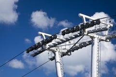 Chemin de câble Photographie stock libre de droits