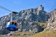 Chemin de câble de montagne de Tableau Photos stock