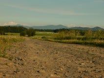 Chemin de champ Photo stock