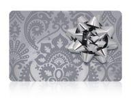 Chemin de coupure d'†de carte cadeaux» Photo stock