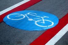 Chemin de cycle Image libre de droits