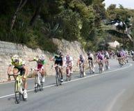 Chemin de cycle de Milan à San Remo 2011 Photo stock