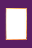 chemin de découpage de Bulletin-panneau Image stock