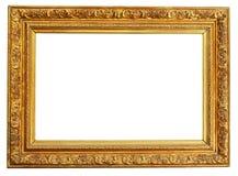 Chemin de découpage de trame d'or Photo stock