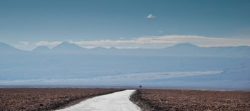 Chemin de désert Images libres de droits