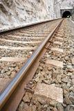 Chemin de fer Photographie stock