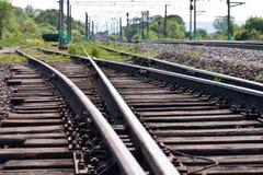 Chemin de fer. Image libre de droits