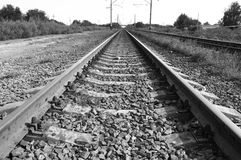 Chemin de fer Image libre de droits