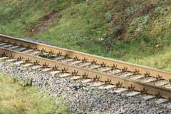 Chemin de fer 9 Images libres de droits
